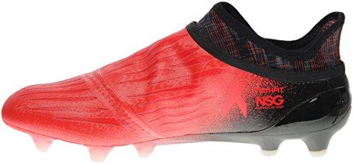 Adidas Mens X 16+ Purechaos Fg Fotbollsskor (röd, Svart) Svart; Röd