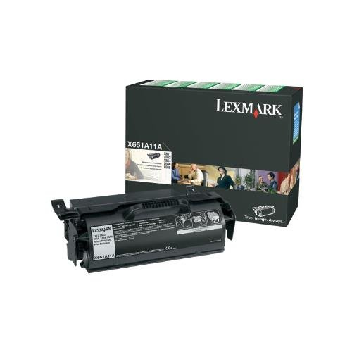 (Lexmark X651, X652, X654, X656, X658 Series Return Program Print Cartridge (7,000 Yield), Part Number X651A11A)