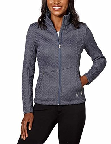 Spyder Ladies Major Cable Stryke Jacket (L, Gray) by spyder
