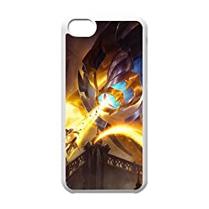 iPhone 5c Cell Phone Case White League of Legends Arclight SUX_172475
