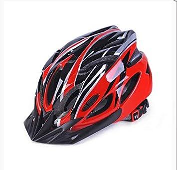 linfei Bicicleta De Equitación Casco Hoverboard Unisex MTB Road Cycing Casco Protección Bicicleta Casco Ajustable 57-62Cm Casco: Amazon.es: Deportes y aire libre