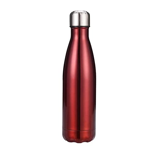 LLYHP Botella de Agua de Metal al vacío Durante 12 Horas, Bebida ...