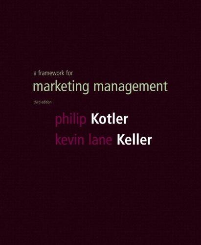 Framework for Marketing Management & Custom Case Flyer Pkg. (3rd Edition)