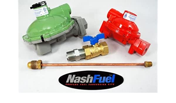 "Marshall Regulator Home Propane Supply Kit LP 1122H-AAJ 1622-BCF 1//2/"" Outlet"