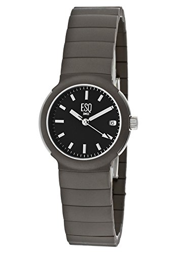 Movado 7100729 Esq Aquarius Titanium Swiss Womens Casual Watch