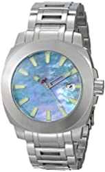 ANDROID Men's AD658BBU Parma Analog Japanese-Automatic Silver Watch