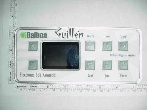 Deluxe Digital Spa (Balboa 50799 Deluxe Digital Topside Spa Control Panel)