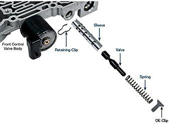 sonnax 5l40-e 5l50-etransmission inversa válvula de cierre Kit 55211 - 01 K: Amazon.es: Coche y moto