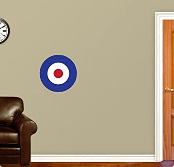 Mod Target Vespa Wall Sticker Decal