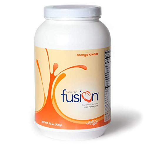 Meal 8 Oz Powder - Bariatric Fusion Meal Replacement Protein 2lb Tub Orange Cream for Gastric Bypass & Sleeve Gastrectomy