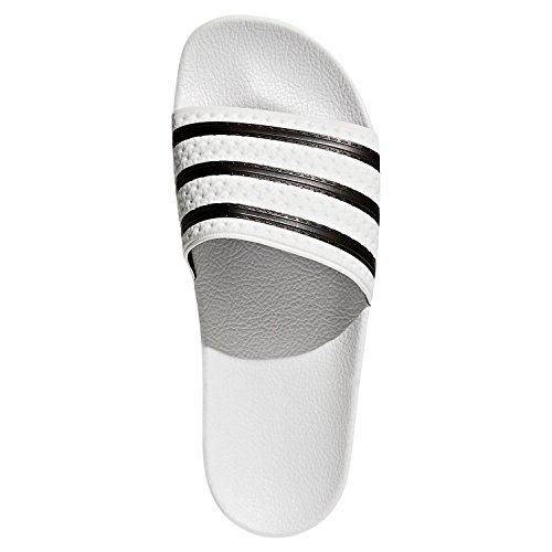 Chaussures De Et Pour Plage Adidas Piscine Blanc Adilette Adultes qEvw5
