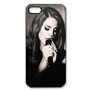 Famous Singer Lana Del Rey iPhone 5 Case Hard Plastic Protective iPhone 5 Case