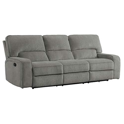 Amazon Com Homelegance Borneo 98 Quot Double Reclining Sofa