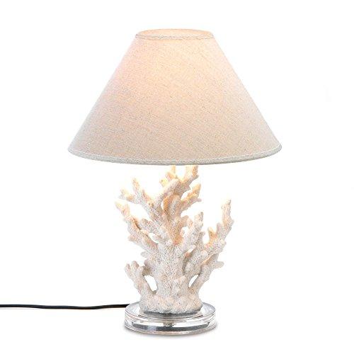 VERDUGO GIFT 10015678 57071182 Undersea Table LAMP, Cream (Beach Style Lamps)
