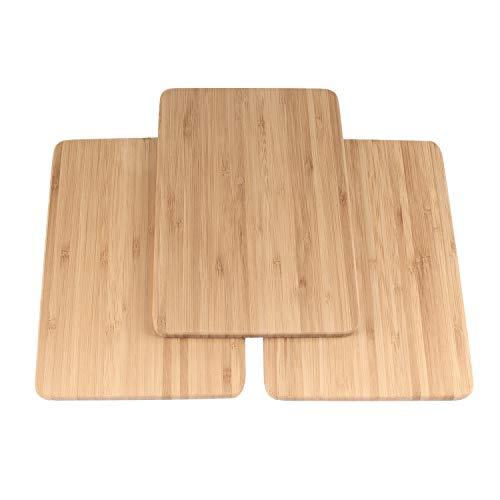 (BambooMN Brand - Bulk Wholesale Premium Bamboo Cheese Board - 7.9
