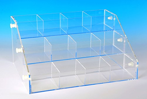 Tiered Beading - Tiered Bead Display Organizer Bins (YA- 3 Tiered)