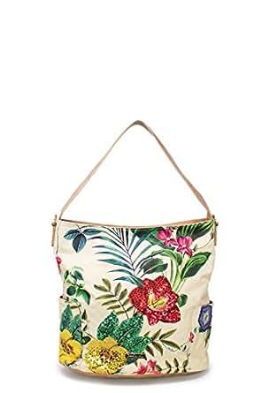 Luxury Fashion   Desigual Womens 19SAXPGPBEIGE Beige Shoulder Bag   Fall Winter 19