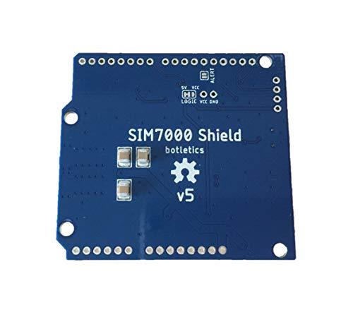 Botletics SIM7000 LTE CAT-M1 NB-IoT Cellular + GPS + Antenna Shield Kit for Arduino (SIM7000A) by Botletics (Image #1)