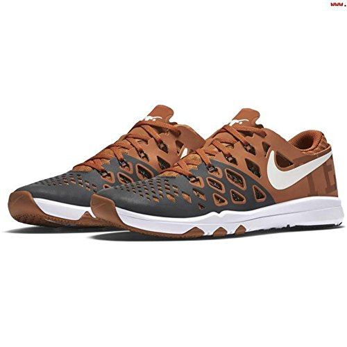 Nike Men's Train Speed 4 amp University Of Texas Longhorns 844102 800 Size 8