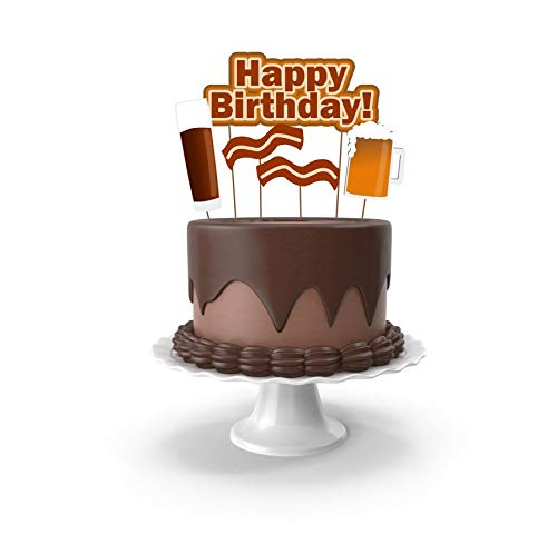 Amazon Beer And Bacon Themed Cake Toppers Decorations For