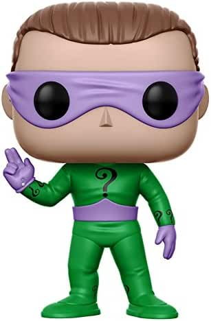 Funko POP Heroes DC Heroes Riddler Action Figure (Style and Color May Vary)