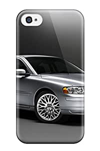 Top Quality Case Cover For Iphone 4/4s Case With Nice Volvo S80 32 Appearance