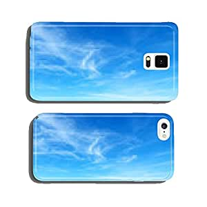 blue sky with clouds cell phone cover case iPhone6 Plus