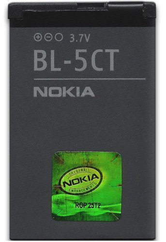 Nokia rechargeable battery Li-Ion, 1050 mAh BL-5CT - for 3720, 6303 Classic, 6303i classic, 6730, C3-01, C5-00, C6-01