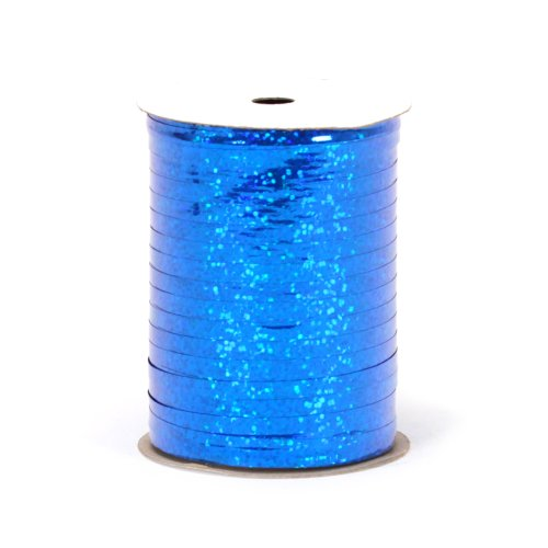 Berwick H100 12 Holographic Curling Ribbon, 3/16-Inch Wide by 100-Yard Spool, Royal