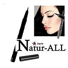 EYE LINER LIQUID - BLACK - Organic & Vegan - Bare Natur-All Minerals