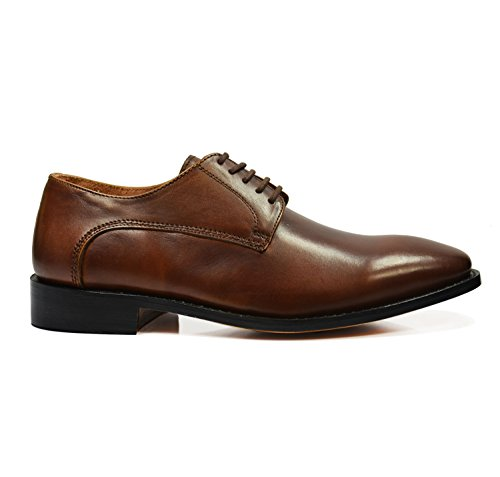 Plain Derby in Brown Classic Malone Bombay by Brown Leather Full Bombay Paul BRwgnxdq