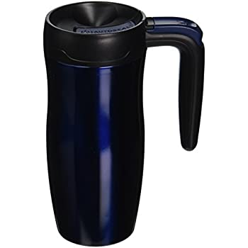 Contigo AUTOSEAL Randolph Vacuum Insulated Handled Travel Mug with Lock, 16oz, Midnight Blue