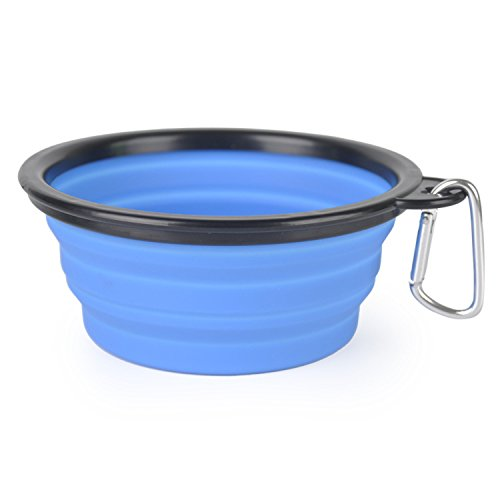 Hot Sale Pet Products Silicone Bowl Pet Folding Dog Bowls For Food the dog drink