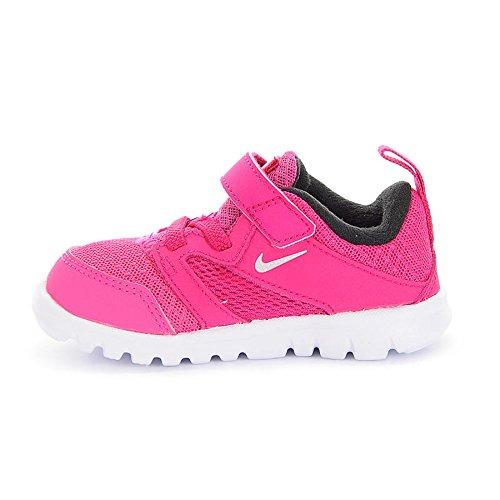 Nike - Nike Flex Experience 3 (TDV) Zapatos Deportivos Niña Fucsia 653700 Multicolor