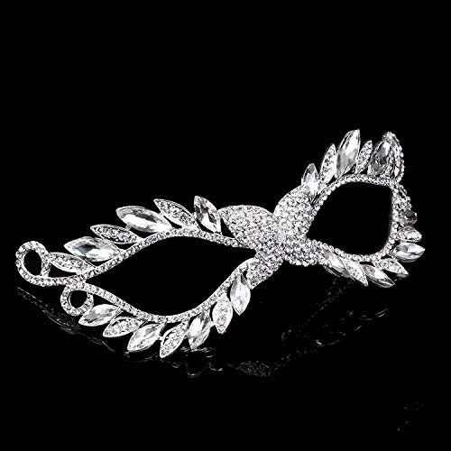 Superhero Movie Props - 2019 Ultra Flash Crown Mask Halloween Christmas Masquerade Masks Xmas Festive Party Wholesale - Rose Couples Prime Navy Decorate Women Paper Silver Black Masquerade Wea ()