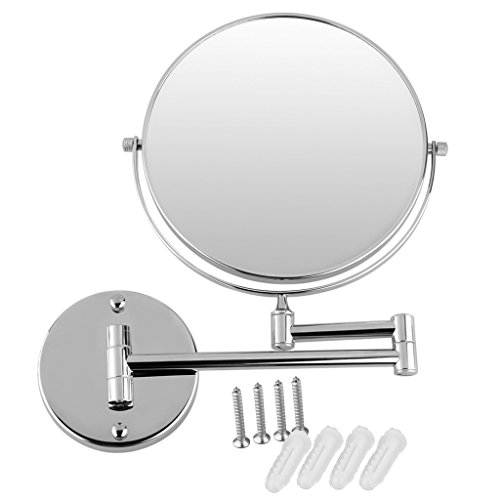 Excelvan 5 x magnification chrome finished wall mounted 8 - Amazon schminkspiegel ...