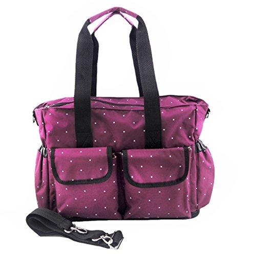 Minch Polka Dot Diaper mom bags- LXEM133 Fashionable Large B