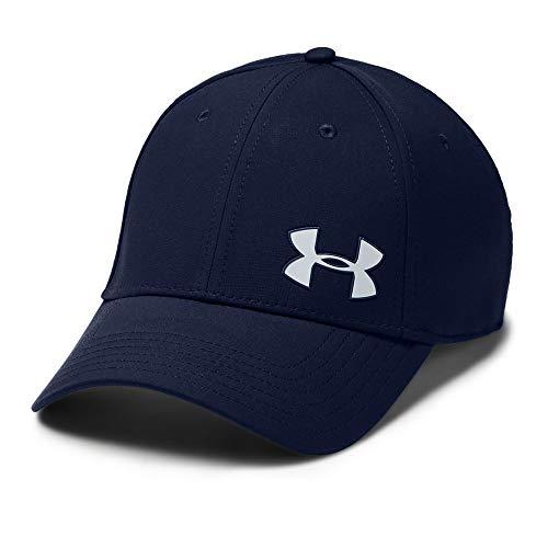 Under Armour Men's Golf Headline Cap 3.0, Academy (408)/Mod Gray, Medium/Large