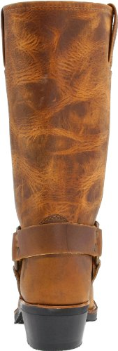 Brown Frye Dark 5 Boot Western Harness UK 3 12R xrXB4x