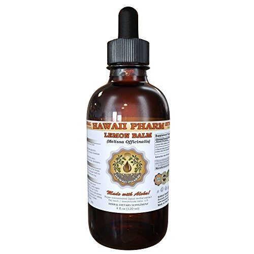 Lemon Balm Liquid Extract, Lemon Balm (Melissa officinalis) Tincture 2 oz - Pharms Lemon Balm