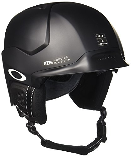 Oakley Mod5 Snow Helmet, Matte Black, Medium