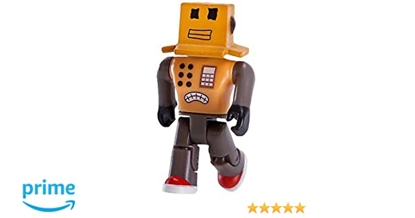 Amazoncom Roblox Series 1 Mr Robot Action Figure Mystery Box