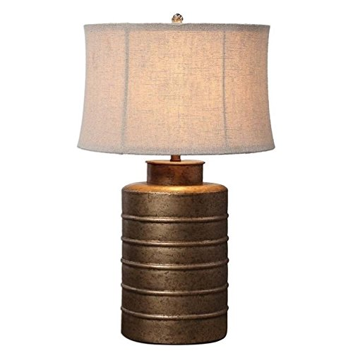 Uttermost 27100 Antiqued Gold Bamiro Lamp (Antiqued Accents Gold)