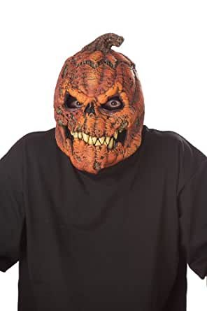 California Costumes Men's Ani-Motion Masks - Dark Harvest Ani-Motion Mask, Orange, One Size