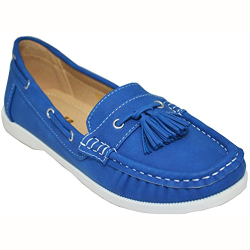 Studio 38 Women's Neena-17 Boat Shoes, Navy