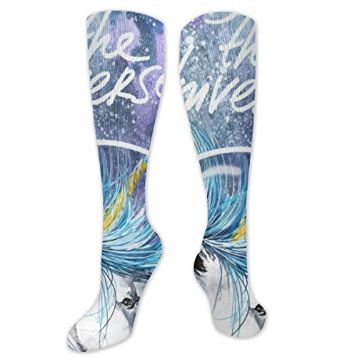 Used, Compression Socks Unicorn Enjoy Universe Girls Winter for sale  Delivered anywhere in USA