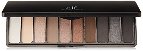 E L F Cosmetics Eyeshadow Palette Everyday Smoky 0 49 oz 14 g