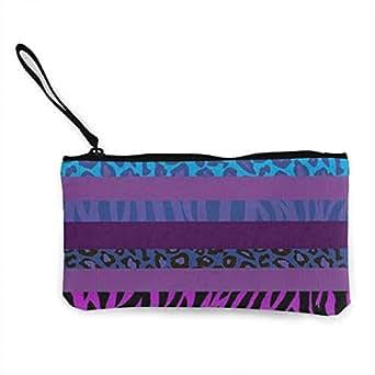 Amazon.com: Cartera para mujeres y niñas, diseño de leopardo ...