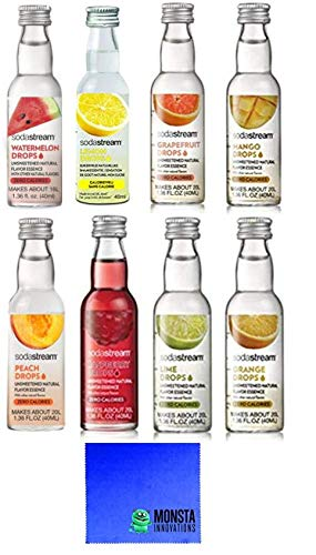 SodaStream Fruit Drops 8 Pack by MonstaDeals