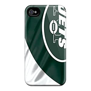 Iphone 4/4s Tev17160hsII Customized Attractive New York Jets Skin Scratch Protection Hard Phone Covers -AnnaDubois